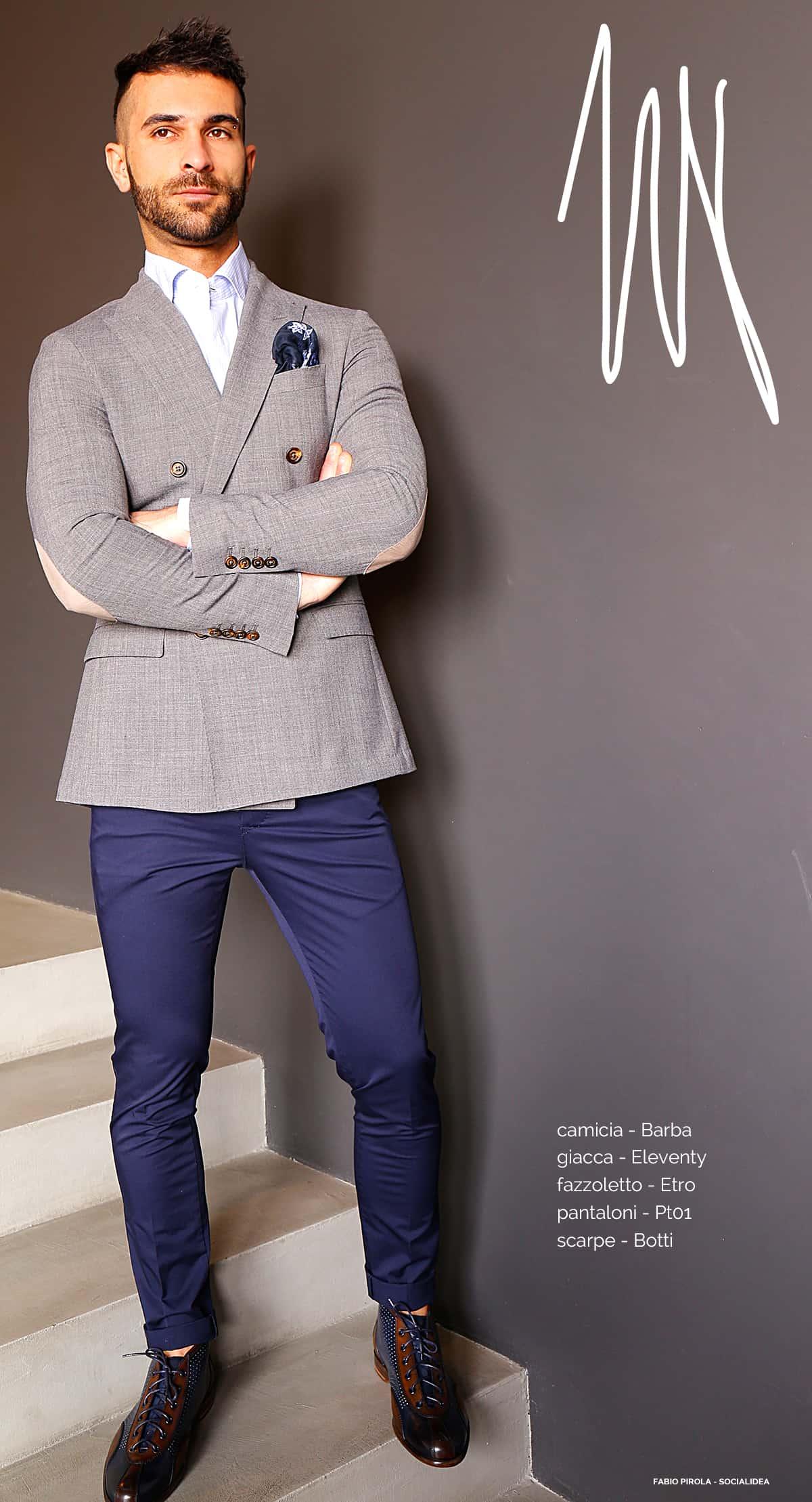 Outfit Matrimonio Uomo Spezzato : Lo spezzato l outfit della settimana motta fashion place