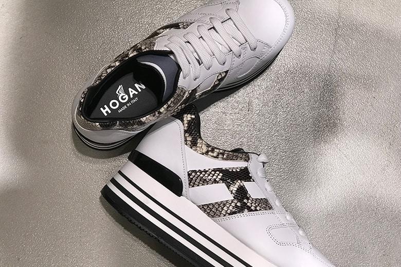 Sneaker Hogan: la novità della nuova collezione donna SS20 è il denim